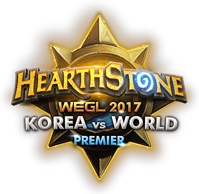 hearthstone korea vs world logo